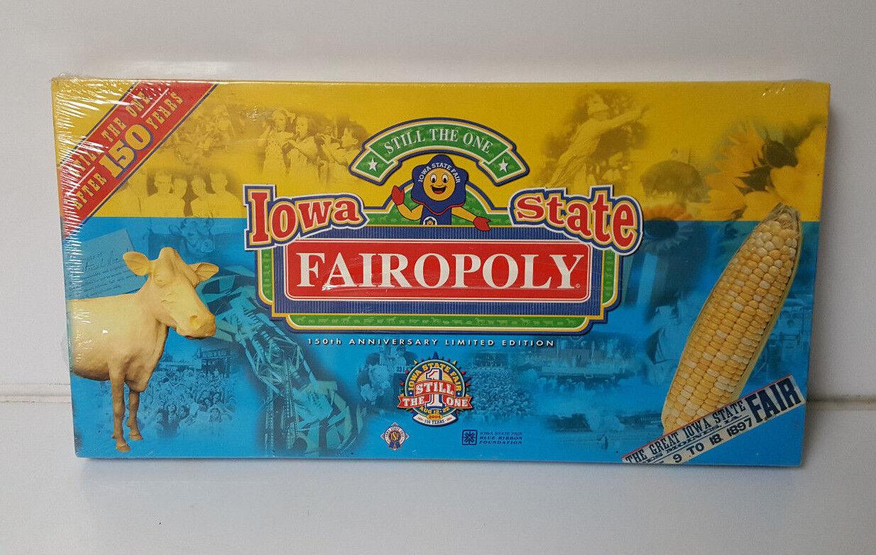 Monopoly Iowa State Fairopoly New Sealed