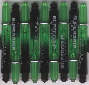 2ba Blue Shockwave Spring Loaded Aluminum Dart Shafts 1.75in 3 per set
