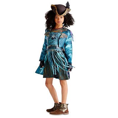 Disney Descendants 2 Evie Costume AND Wig Authentic Girls Sizes 7//8 9//10 11//12