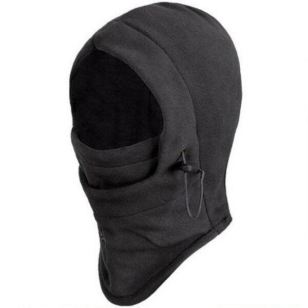Ultralight 4 in 1 Winter Warmer Snood Fleece Mens Scarf Hood Neck Face Mask