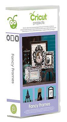Cricut Fancy Frames Project Cartridge 2001095