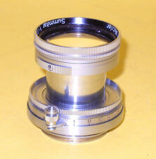 Leitz Leica Summitar 5cm 50mm 1:2 SOORE in very good condition