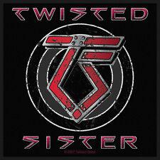 TWISTED SISTER - Patch Aufnäher - Classic logo NEU!