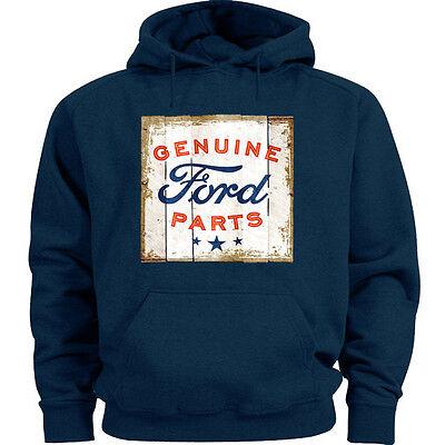 Ford sweatshirt Men/'s crewneck Ford tin sign design sweat shirt dark gray