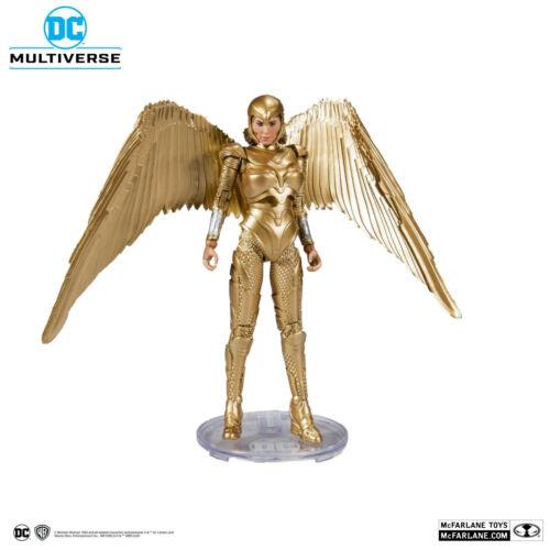 DC Multiverso Wonder Woman 1984 d/'oro Armor 18CM Action figure MCFARLANE TOYS