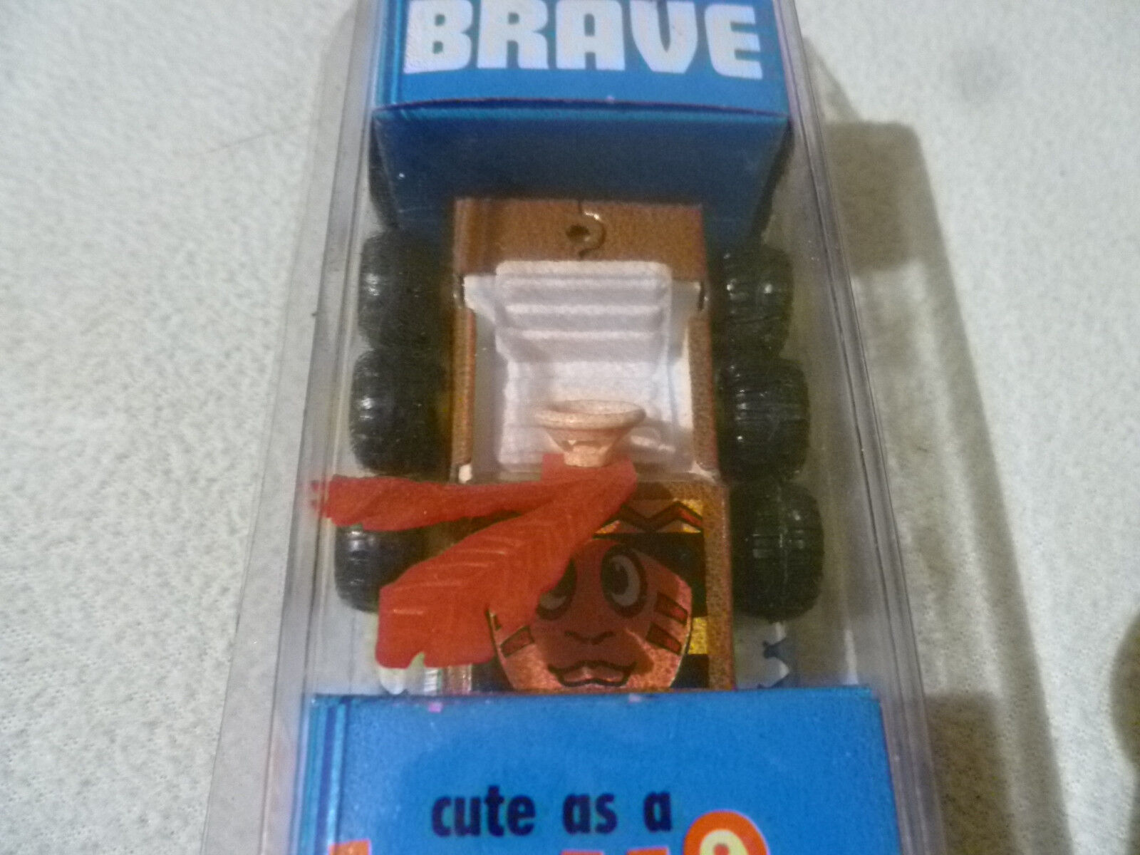 NEW BUDDY L BRAVE BUTTONS STURDY STEEL STEEL STEEL DIECAST TOY CAR VINTAGE NO. 4101 RARE NIP 18433a
