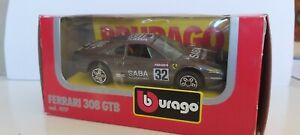 BURAGO-1-43-FERRARI-308-GTB-RALLY-32-NEUF-EN-BOITE