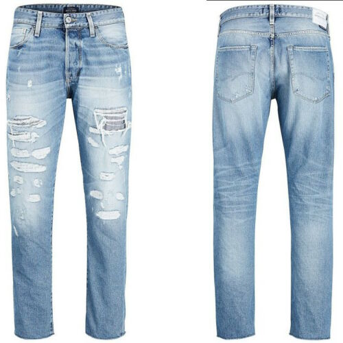Jack & Jones Men's Jeans Fred BL741 Tapered Fit Small Fault W29 L32