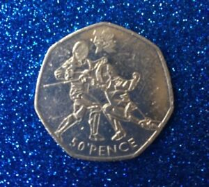 2011-OLYMPIC-50P-COIN-FENCING