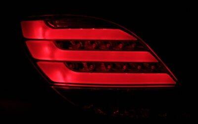 LED BAR RÜCKLEUCHTEN RÜCKLICHTER SET für PEUGEOT 207 LIGHTBAR SCHWARZ SMOKE QT