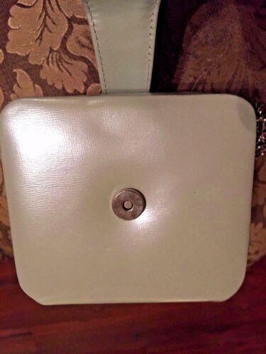 de Vintage cuero con monedero cadena con Vicenza de de Cubo noche gris C1993 correa pqFxZnw58