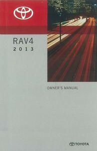 2013 toyota rav4 owners manual user guide ebay rh ebay com rav4 owners manual 2010 2013 toyota rav4 owners manual pdf