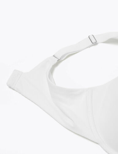 Details about  /M/&S BODY UNDERWIRED PADDED WHITE SMOOTHING WING FULL CUP T-SHIRT BRA #