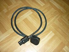 HiFi Mains Power Cable Shielded Fits Cyrus Rega Rotel Arcam Amps 1.5 meter lot 1