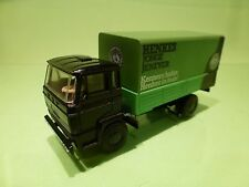 LION CAR 1:50 - DAF 1900 - HENKES JONGE JENEVER - EXTREMELY RARE  GOOD CONDITION