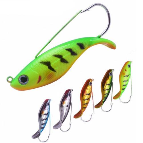 8.5cm 21.5g Fishing Lure Anti-hang grass hook Winter Ice Fishing Jig Baits
