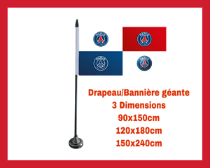 DRAPEAU-GEANT-BANNIERE-LOGO-FOOTBALL-CLUB-SUPPORTER-PSG-PARIS-SG-MAILLOT-MBAPPE