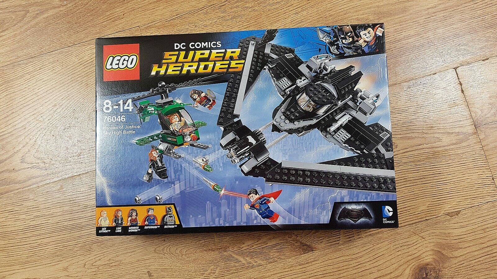 LEGO DC 76046 héros de la justice   Sky High bataille de 2016   Neuf, non ouvert  service de première classe