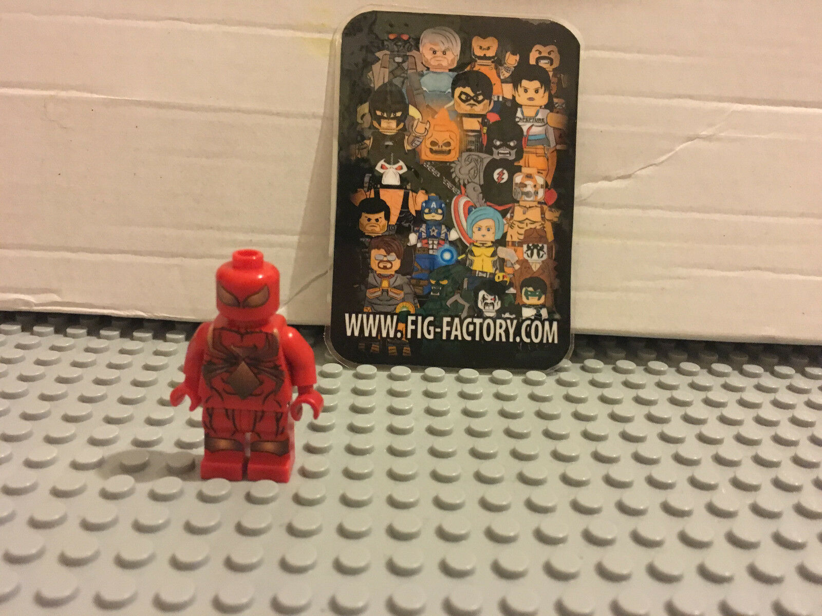 LEGO CUSTOM  METAL SPIDER EXCELLENT PRINT QUALITY SUPER HEROES IRON SPIDER FIG