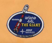 "ARIANE 44L THE GIANT KOUROU MBB  3 3/4 ""  PATCH"