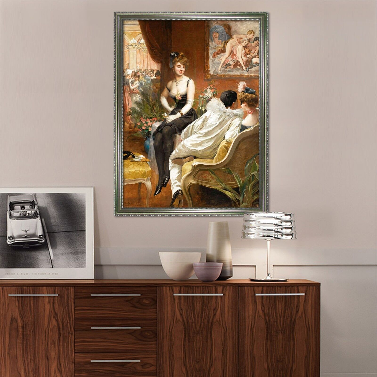 3D Vintage Paintings 67 Fake Framed Poster Home Decor Print Painting Unique Art
