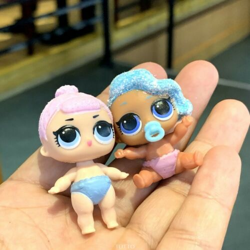 GLITTERATI SPLASH QUEEN /& CRYSTAL QUEEN DOLL toy LOL Surprise LiL Sisters L.O.L