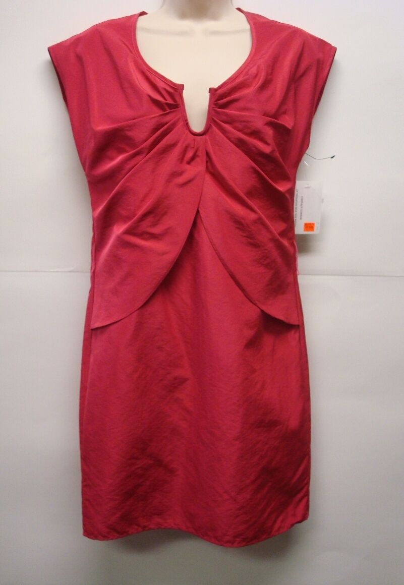 NWOT  A.B.S Collection Dress Iridescent Pink  Sz 0 Retails Very Nice
