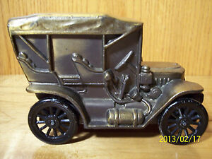 Stanley Steamer Car >> Vintage 1910 STANLEY STEAMER Banthrico Car Automobile Coin Piggy Bank Chicago | eBay