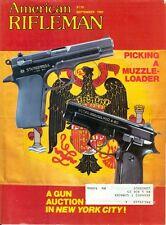 1981 American Rifleman Magazine: Picking A Muzzle-Loader/A Gun Auction New York