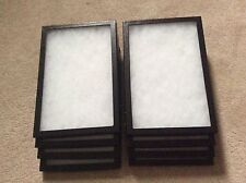 1 Box Of 8 8 X 12 X 34 Display Cases Riker Type Made In Usa