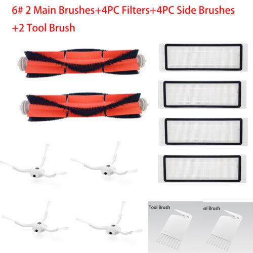 Replacement Part Vacuum Cleaner Filter Kit for Xiaomi Mi Robot s50 s51 Roborock2