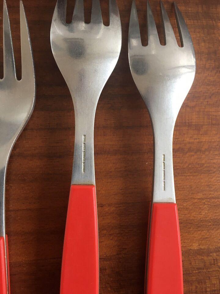 Bestik, Middags knive, gafler