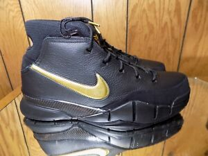 huge discount 539dc 0e7a4 Brand New Mens Nike Kobe 1 Protro AQ2728-002 Black/Metallic Gold ...