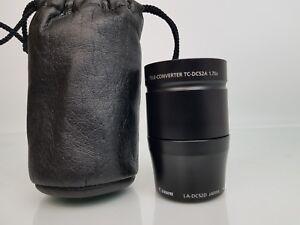 Canon TC-DC52A 1.75x Tele Converter & Canon LA-DC52D Objektiv Lens Adapter