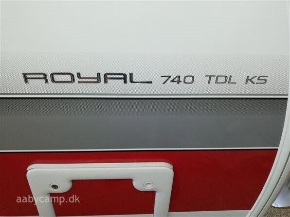 Kabe 2019 - Kabe Royal 740 TDL KS, 2019, kg egenvægt 1850