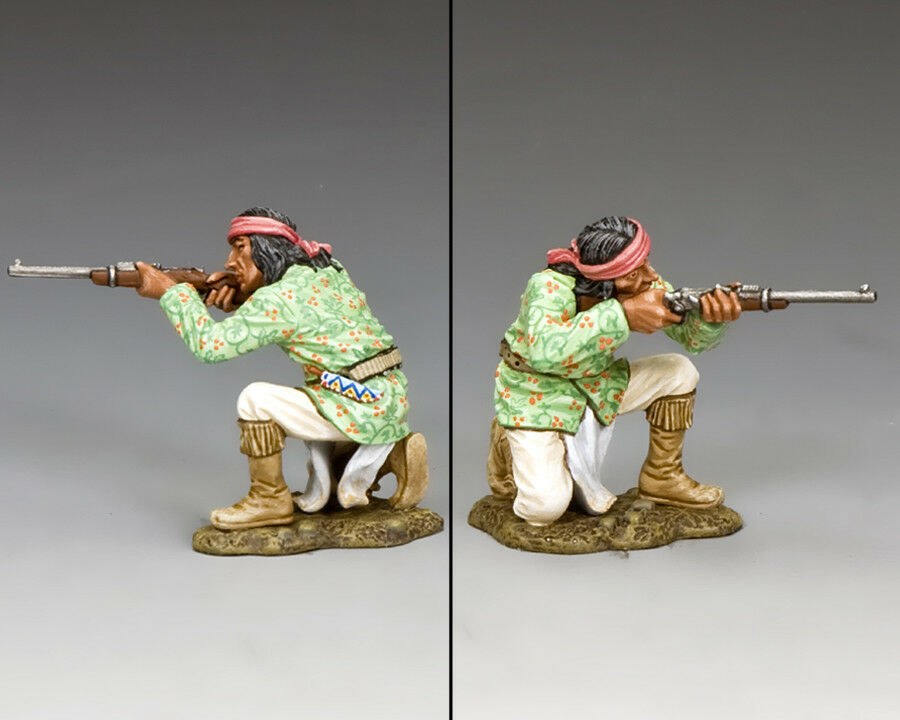 KING KING AND COUNTRY THE REAL WEST -  Kneeling Firing , The Apaches TRW095