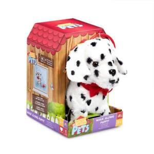 Pitter Patter Pets Walk Along Soft Toy - Dalmatian