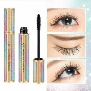 4D-Silk-Fiber-Eyelashes-Lash-Mascara-Waterproof-Long-lasting-Women-W5R3