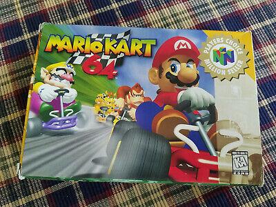 Mario Kart 64 Players Choice Nintendo 64 N64 Authentic