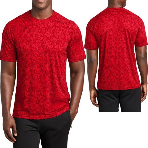 Mens Digital Camo Moisture Wicking T-Shirt Dri Fit Tee XS-XL 2XL 4XL NEW 3XL