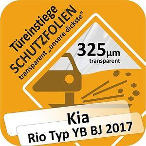 Per KIA RIO 4 tipo YB Paraurti Pellicola Vernice Protezione Pellicola Protettiva 80 µm