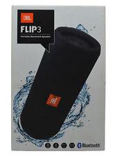 JBL Flip 3 Splashproof Portable Bluetooth Speaker Water Resistant  Black