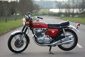Image Is Loading Honda CB750 CB 750 K0 1970 Candy Ruby