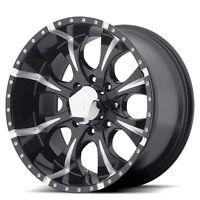 16 Inch Wheels Rims Black Chevy Silverado 2500 3500 Hd Gmc Sierra Truck 8 Lug
