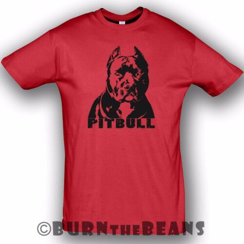 5XL Pitbull t-shirt dog new design pitbull tee S