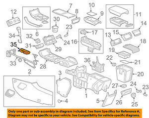 gmc acadia center console wiring diagram reinvent your wiring simple boat wiring gmc gm oem 07 16 acadia center console shift indicator 22870633 ebay rh ebay com acadia hvac wiring diagrams gmc acadia engine diagrams coil bank