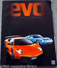 Evo Magazine 134 - Lamborghini Miura SV vs Lamborghini Murcielago SV