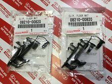 GENUINE TOYOTA Lexus Scion Floor Mat Hooks Retention Hold Down clips Holders OEM