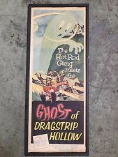 Rare VTG Hot Rod Gang Poster Limited Edition Ghost of Dragstrip Hollow Original