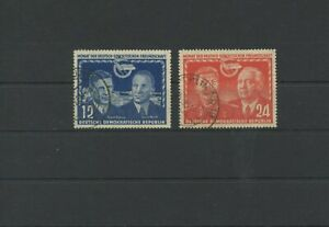 Germany-GDR-vintage-yearset-1951-Mi-296-297-Postmarked-Used-More-Sh-Shop-2